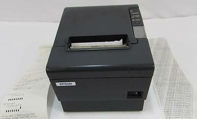 Epson TM-T88IV POS Serial Interface Receipt Printer M129H Dark Gray