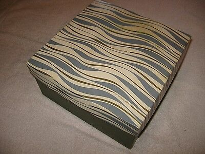 Vintage Sears Roebuck and Co. Hat Box Square