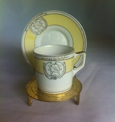 Made In Japan Demitasse Cup And Saucer