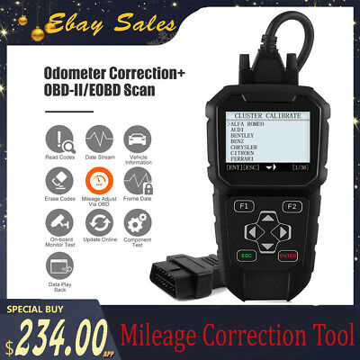 OBDPROG MT401 Car Odometer Adjustment OBDII Correction Mileage Diagnostic Tool