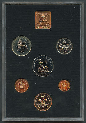 1971 First Decimal Coinage 6 Coin Proof Set Royal Mint UK #1
