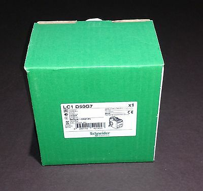 LC1D50G7 Schneider Electric Contactor - NEW