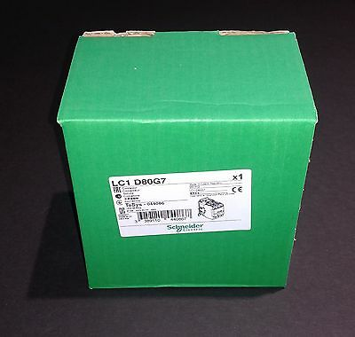 LC1D80G7 Schneider Electric Contactor - NEW