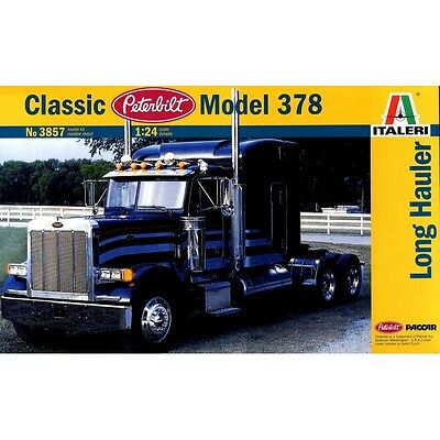 Italeri 1/24 Classic Peterbilt Model 378 Long Hauler Kit ITA-03857 (New)