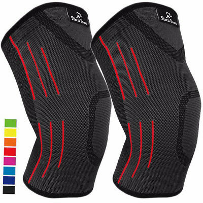 1 PAIR Knee Compression Sleeves for Arthritis Joint Pain Relief, Support Braces