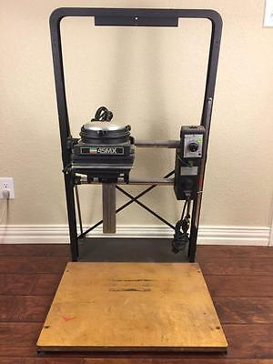 Beseler 45Mx Enlarger With 45Mcrx Motorized Chassis No Lamp Or Lamphouse