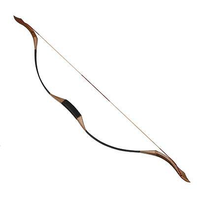50Lb Archery Traditional Recurve Bow Handmade Mongolian Longbow Target & Hunting