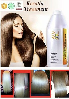 12% Pure Brazilian Keratin Hair Straightening Treatment Blow Dry 1000 ml 33.8 oz