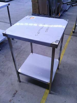 NEW STAINLESS STEEL 600x600x900 mm HEAVY DUTY GRADE304 COMMERCIAL KITCHEN BENCH