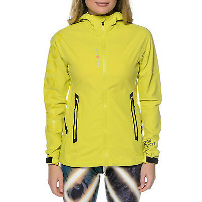 Reebok Crossfit Womens Stride II Running Lightweight Jacket - Yellow