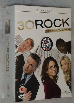 30 Rock - Seasons 1, 2, 3, 4 - 12 DVD BOX-Set versiegelt