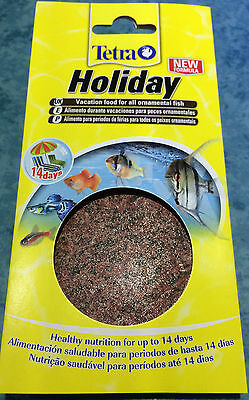 Tetra Tropical 14 Day Holiday Vacation Tetramin Fish Food Aquarium Fishtank