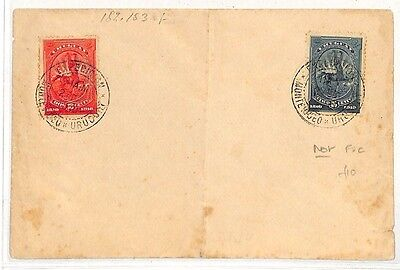 MM58 1910 Uruguay Montevideo Cover {samwells-covers}