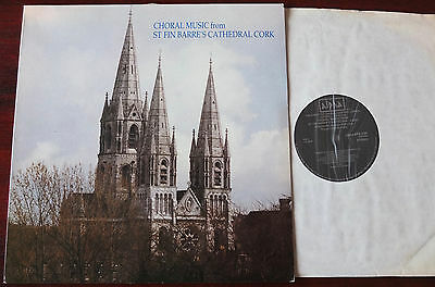 St Fin Barre's Cathedral Cork Choral Music Lp Padmor Alpha Aps 338  Nm (1982)