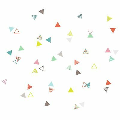 Harriet Bee Cecelia Small Triangles Wall Sticker/Decal
