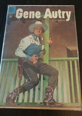 Gene Autry Comics Issue #95 (Jan 1955, Dell) (Good Condition)