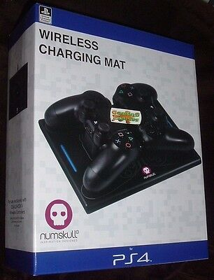 Official Sony PS4 Wireless Charging Mat Station Dock Playstation 4 NEW SEALED