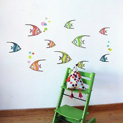 Harriet Bee Cecelia Tropical Fishes Wall Sticker/Decal