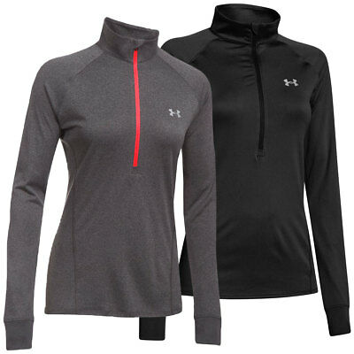 Under Armour 2017 Womens UA Tech Half Zip Solid Pullover Fitness Training Top