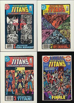 TALES OF THE TEEN TITANS #42 #43 #44 ANNUAL #3! 1st Nightwing! SEE SCANS! WOW!