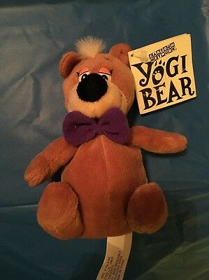 Boo Boo Yogi Bear Collectible Plush Beanie Cartoon Network NWT
