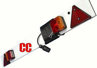 "4ft 6"" Lighting light Board trailer 6 long Meters cable emergency bike carrier"