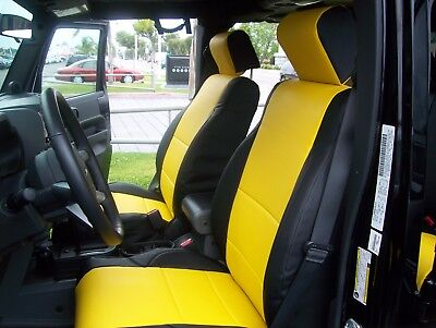 Excellent Jeep Wrangler 2007 2018 Iggee S Leather Custom Fit Seat Gamerscity Chair Design For Home Gamerscityorg