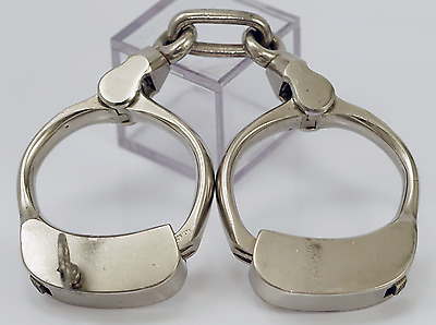 Bean Prison Handcuffs Superb Condition