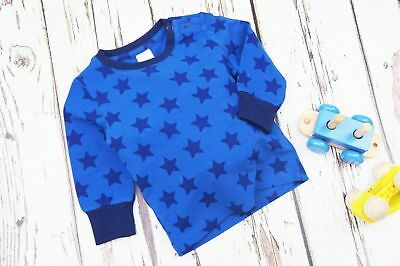 Blade & Rose blue star top tshirt goes with legging 0-6-12-18-24 month 1-2 years