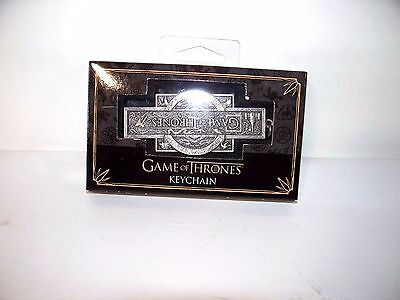 Game Of Thrones, Pewter color, Keychain, New In Package