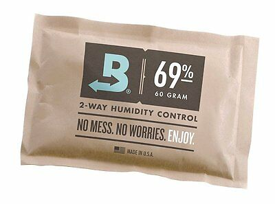 Boveda 69-Percentage RH Individually Over Wrapped 2-Way Humidity Control Pack,