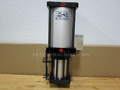 Pneumatic Booster Knock Out Cylinder Air Over Hydraulic 6000Kg 17Mm Stroke
