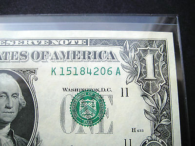 $1 1969***seal Misalignment Error***d Dallas Federal Reserve Choice Unc Note