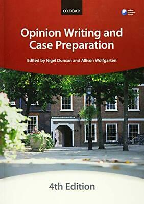 Opinion Writing and Case Preparation (Blackstone Bar M... by The City Law School
