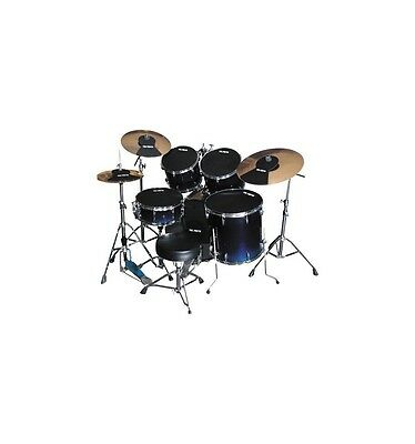 Pack sourdines Vic Firth Standard 22'' + hi-hat et 2 cymbales
