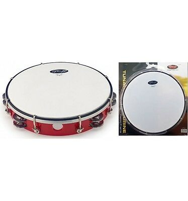 Tambourin plastique 10 pouces Stagg TAB-210P rouge