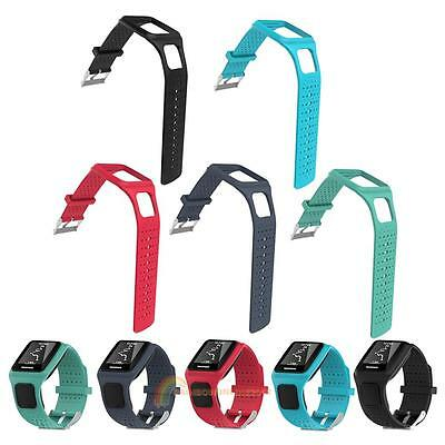 1 x Replacement Silicone Strap Bracelet Band For TomTom Runner/Sport GPS Watch