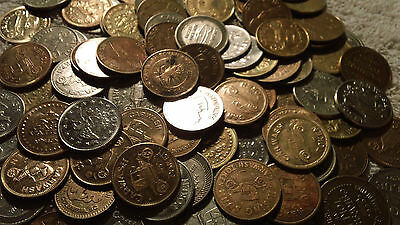 CAR WASH TOKENS LOT OF (15) different