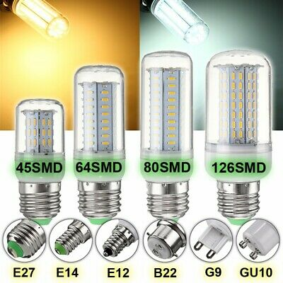 Dimmable B22 E27 GU10 G9 E14 LED Ampoule LED Maïs SMD 4014 14/18/25W Lampe Bulbs