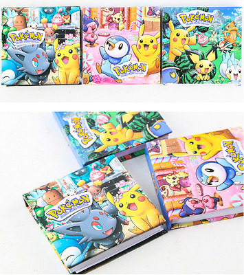 AU SELLER ~ POKEeMON GO Memo Pad Note Writing Paper for Lolly Bag Birthday Gift