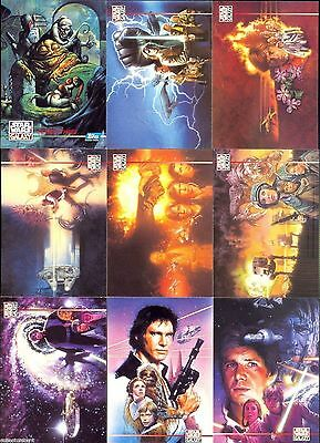 Star Wars Galaxy Series 3 - Complete Card Set (1-90) + Lucasarts (L1-L12) 1995