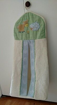 KIDSLINE Diaper Stacker Farm Animals Cow Sheep Baby Infant Pre-Own