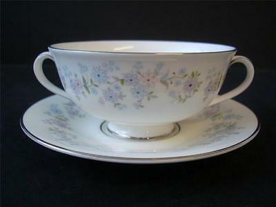 Royal Doulton Amersham Soup Coupe And Stand