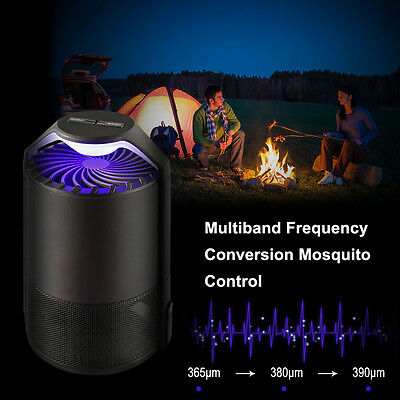 Practiacl Smart Portable Mosquito Killer Lamp For Home Outdoor Camping Office