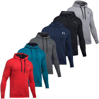 Under Armour 2017 Mens Rival Fitted Pullover Hoodie Training Hooded Top