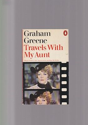 Graham Greene TRAVELS WITH MY AUNT maggie smith mgm film 1974 penguin