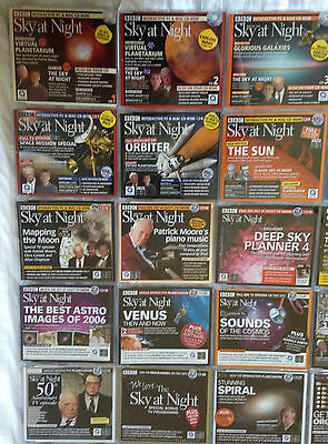 Astronomy Bundle 54 Sky At Night CDs Astronomical Interests; Patrick Moore, Moon