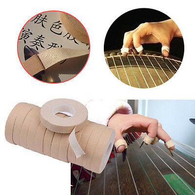1cmX5m Ventilated Adhesive Tapes Chinese Zither GuZheng Pipa Finger Picks