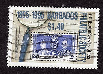 1996 Barbados $1.40 Cent Philatelic Society SG1069 FINE USED R32763