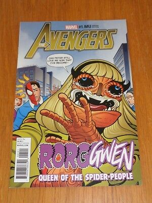 Avengers #1.mu Marvel Comics Variant March 2017 Nm (9.4)